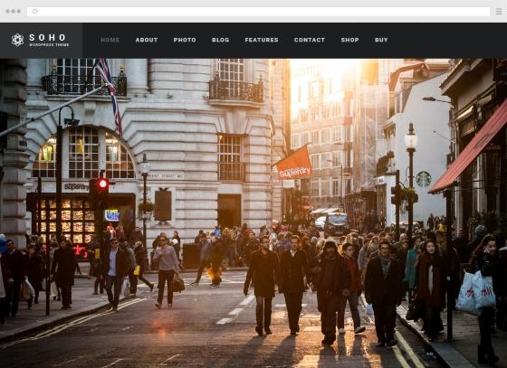 Create a photographer site